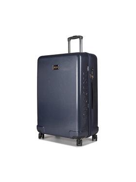 Puccini Puccini Nagy kemény borítású bőrönd Panama PC029A 7A Sötétkék