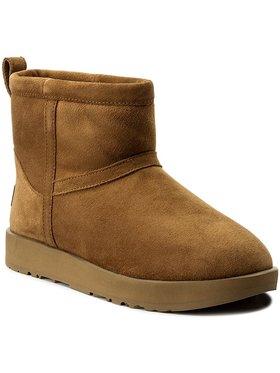 Ugg Ugg Schuhe W Classic Mini Waterproof 1019643 Braun