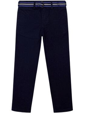 Polo Ralph Lauren Polo Ralph Lauren Medžiaginės kelnės Summer I 322785694 Tamsiai mėlyna Regular Fit