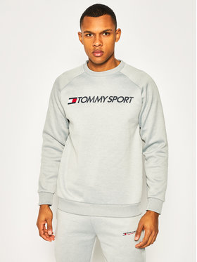 Tommy Sport Tommy Sport Bluză Fleece Logo S20S200280 Gri Regular Fit
