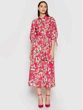 Liu Jo Liu Jo Sukienka koszulowa WA1292 T4824 Różowy Regular Fit