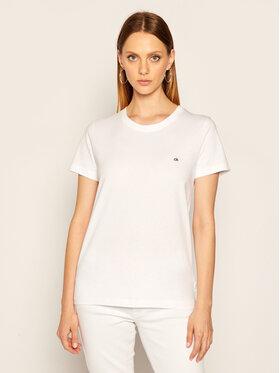 Calvin Klein Calvin Klein Тишърт K20K202132 Бял Regular Fit