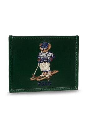 Polo Ralph Lauren Polo Ralph Lauren Pouzdro na kreditní karty Swtr Br Cc 405851432001 Zelená