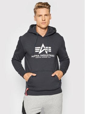Alpha Industries Alpha Industries Bluză Basic 178312 Bleumarin Regular Fit