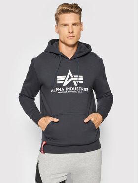 Alpha Industries Alpha Industries Sweatshirt Basic 178312 Dunkelblau Regular Fit