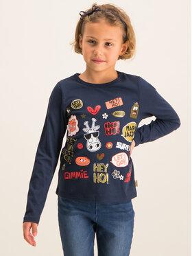 Little Marc Jacobs Little Marc Jacobs Majica W15460 Tamnoplava Regular Fit
