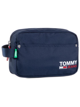 Tommy Jeans Tommy Jeans Pochette per cosmetici Tjm Washbag AM0AM06435 Blu scuro