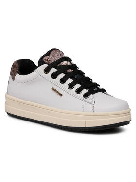 Geox Geox Sneakersy J Rebecca G. F J04BDF 00085 C1000 M Biela