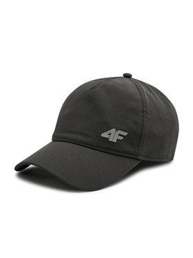4F 4F Kepurė su snapeliu H4L21-CAM004 Pilka