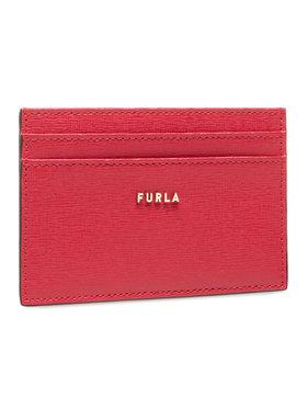 Furla Furla Kreditinių kortelių dėklas Babylon PCZ2UNO-B30000-RUB00-1-007-20-TN-P Raudona