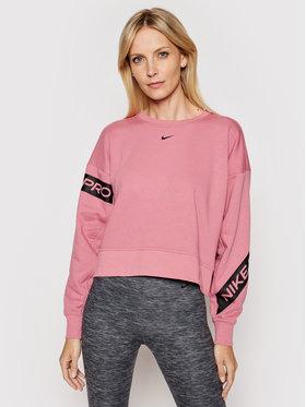 Nike Nike Bluza Pro Dri-Fit Get Fit CU4658 Różowy Oversize