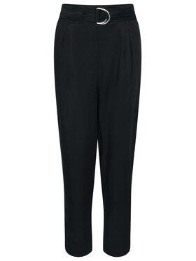 Calvin Klein Calvin Klein Pantaloni di tessuto Tencel Paper Bag K20K202127 Nero Regular Fit