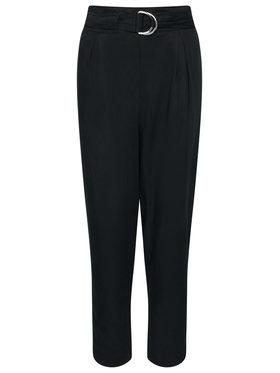 Calvin Klein Calvin Klein Παντελόνι υφασμάτινο Tencel Paper Bag K20K202127 Μαύρο Regular Fit