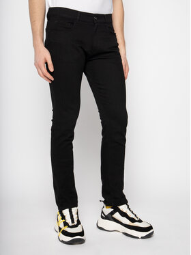 Trussardi Jeans Trussardi Jeans Slim fit džínsy Diego 52J00008 Čierna Extra Slim Fit