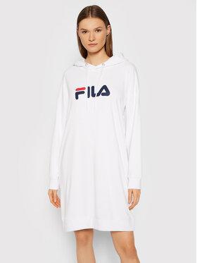 Fila Fila Džemper haljina Elish 688928 Bijela Oversize