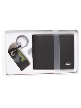 Lacoste Lacoste Σετ δώρου M Billfold Key Holder Box NH3288FG Μαύρο