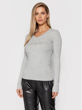 Guess Guess Bluse Iradi W1BI01 J1311 Grau Regular Fit