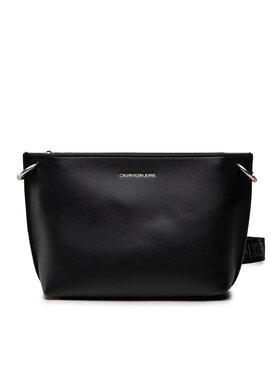 Calvin Klein Jeans Calvin Klein Jeans Дамска чанта Trapezoid Shadow Camera Pouch K60K608383 Черен