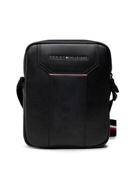 Tommy Hilfiger Tommy Hilfiger Мъжка чантичка Th Commuter Mini Reporter AM0AM07553 Черен