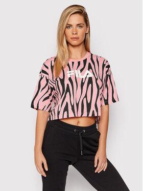 Fila Fila T-shirt Epona 688938 Rose Cropped Fit