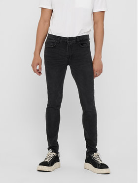 Only & Sons ONLY & SONS Дънки Warp 22018260 Сив Skinny Fit