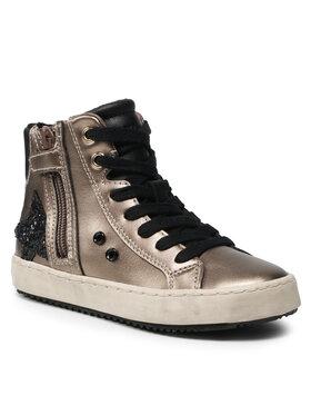 Geox Geox Sneakersy J Kalispera G. A J044GA 000NF C9003 S Zlatá