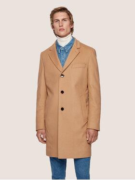 Boss Boss Płaszcz przejściowy Nye2 50438689 Beżowy Slim Fit