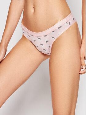 Calvin Klein Underwear Calvin Klein Underwear Brazilian Damenslip 000QD3797E Rosa