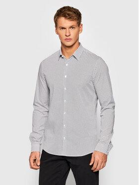 Calvin Klein Calvin Klein Camicia Printed K10K107823 Bianco Extra Slim Fit