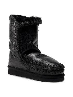 Mou Mou Buty Eskimo Boot 24 FW101000B Czarny