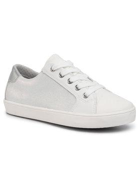 Geox Geox Sneakers aus Stoff J Gisli G. A J024NA 0NFBC C0007 S Weiß
