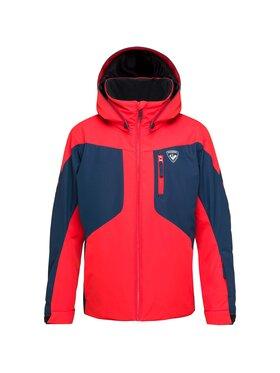 Rossignol Rossignol Kurtka narciarska Course RLIYJ04 Czerwony Regular Fit