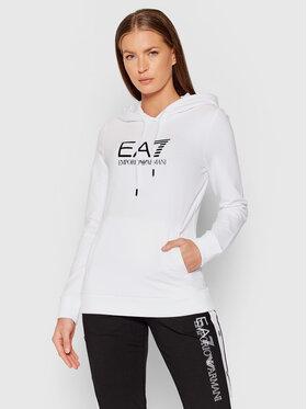 EA7 Emporio Armani EA7 Emporio Armani Majica dugih rukava 8NTM36 TJCQZ 0102 Bijela Regular Fit