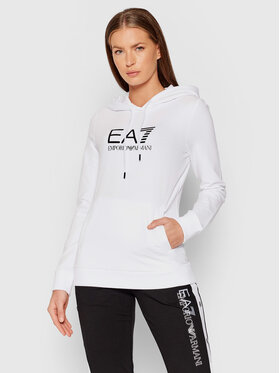 EA7 Emporio Armani EA7 Emporio Armani Sweatshirt 8NTM36 TJCQZ 0102 Blanc Regular Fit