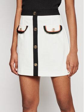 Liu Jo Liu Jo Mini suknja CA1138 J1857 Bijela Regular Fit