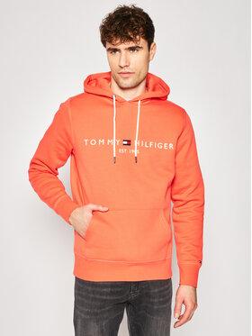 TOMMY HILFIGER TOMMY HILFIGER Mikina Logo MW0MW11599 Oranžová Regular Fit