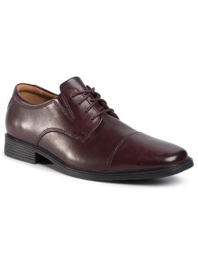 Clarks Clarks Pantofi Tilden Cap 261383887 Maro