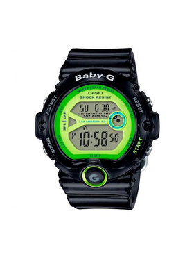 Baby-G Baby-G Hodinky BG-6903-1BER Čierna