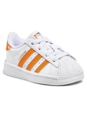 adidas adidas Обувки Superstar El I FZ0653 Бял