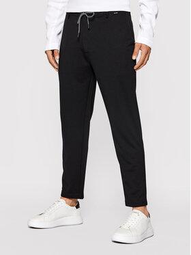 Calvin Klein Calvin Klein Текстилни панталони Comfort Knit Texture Pant K10K107493 Черен Regular Fit