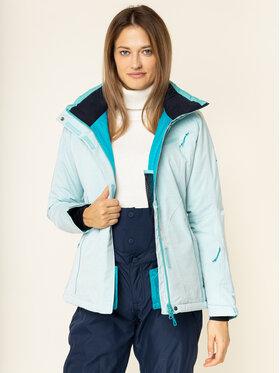 Salomon Salomon Lyžiarska bunda Fnatasy LC1213700 Modrá Regular Fit