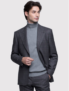 Vistula Vistula Costum Lozanna Uno VI0533 Gri Super Slim Fit