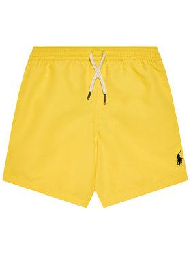 Polo Ralph Lauren Polo Ralph Lauren Pantaloni scurți pentru înot Traveler Sho 322785582014 Galben Regular Fit