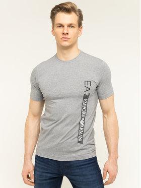 EA7 Emporio Armani EA7 Emporio Armani T-shirt 3HPT08 PJ03Z 3905 Grigio Regular Fit