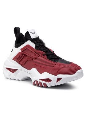 Emporio Armani Emporio Armani Sneakers X4X309 XM486 N162 Vișiniu