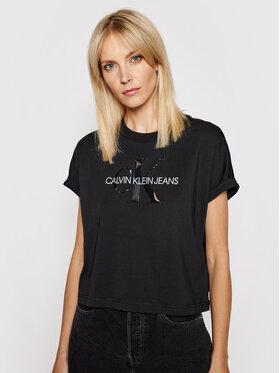 Calvin Klein Jeans Calvin Klein Jeans T-shirt J20J216347 Noir Relaxed Fit