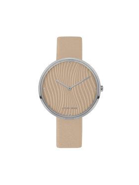 Jacques Lemans Jacques Lemans Zegarek 1-2093C Beżowy