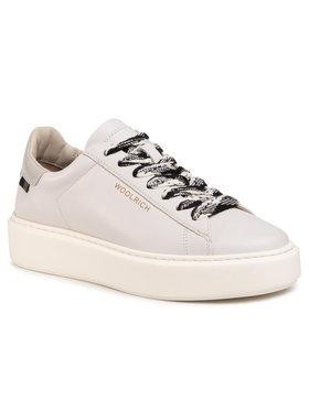 Woolrich Woolrich Sneakersy WFW202.573.3020 Biela