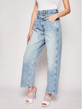Pepe Jeans Pepe Jeans Τζιν Wide Leg DUA LIPA Blaze PL2037330 Μπλε Wide Leg