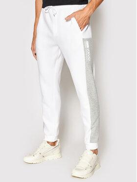 Boss Boss Pantaloni da tuta Hadiko 50447036 Bianco Regular Fit
